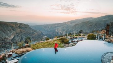 Alila Jabal Akdhar the Golden Hour